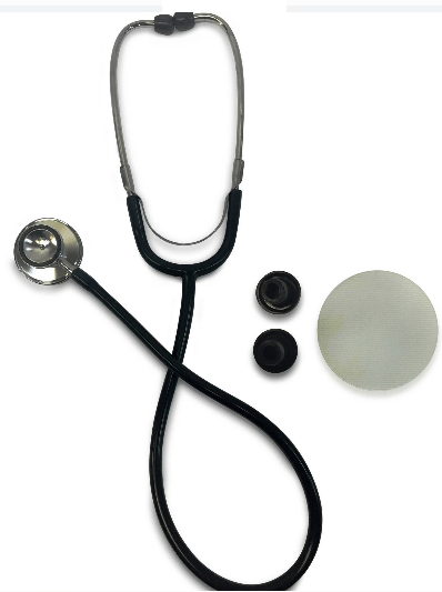 Primacare DS-9290-BK Classic Series Adult Dual-Head Stethoscope
